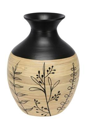 Hand Painted Conical Vase