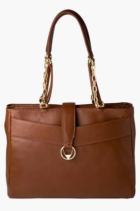 HIDESIGN Womens Zipper Closure Shoulder Bag - 200903204