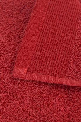 MASPAR - Red Bath Towel - 3