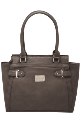 AUSTIN REED Womens Front Metal Loop Satchel