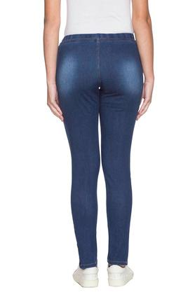 Womens 2 Pocket Mild Wash Jeggings