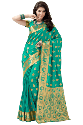 ASHIKA Womens Tussar Silk Saree - 201061410