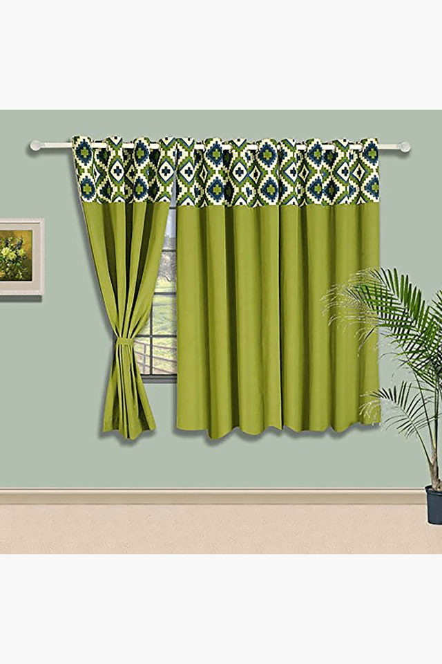 Solid Eyelet Curtain