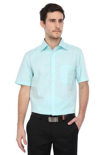 LOUIS PHILIPPE -  Green MixShirts - Main