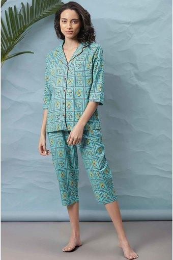 JANASYA -  TurquoiseLoungewear - Main