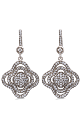 REAL EFFECT Embellished Drop Earrings
