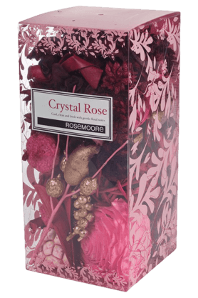 ROSEMOORE Box Pot Pourri Crystal Rose