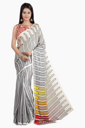 JASHN Womens Printed Saree - 201502512