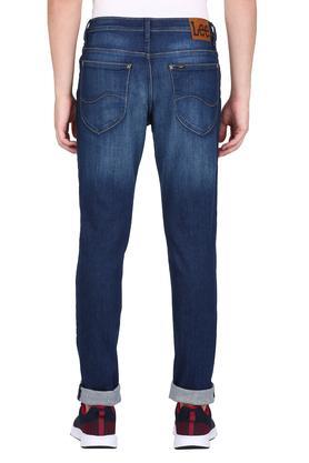 Mens Skinny Fit Mild Wash Jeans