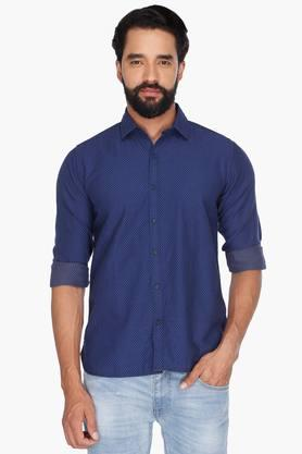Pepe Formal Shirts (Men's) - Mens Full Sleeves Casual Printed Shirt