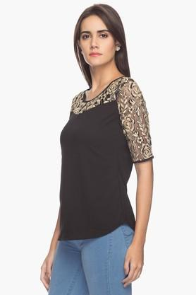 Mesmerize Womens Lace Top