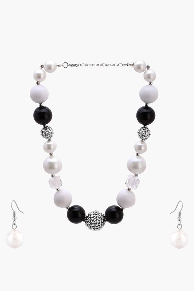 Girls Beaded Necklace and Earring Set (2 Years +)