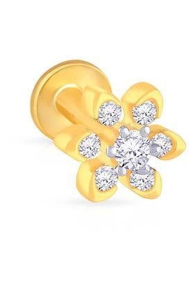 MALABAR GOLD AND DIAMONDSWomens Diamond Nosepin UINSP00084