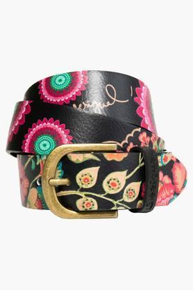 DESIGUALWomens Printed Buckle Belt