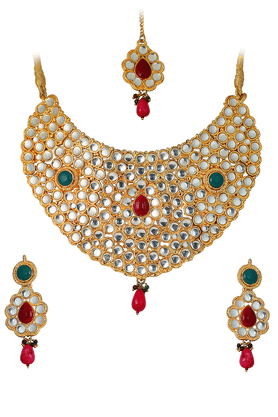 TOUCHSTONE Necklace Set - 9575969