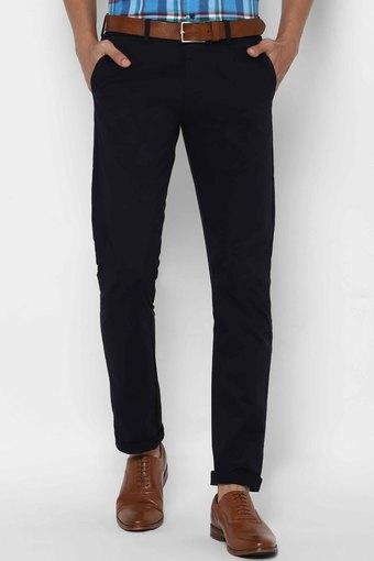 ALLEN SOLLY -  NavyCasual Trousers - Main