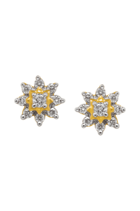 NAKSHATRAWomens 18KT Gold & Diamond Earring - 200960448