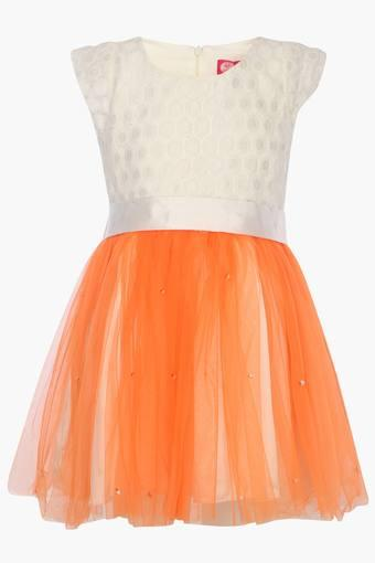 QUEEN ANNE'S LABEL -  Orange GIRL'S DRESSES & JUMPSUITS - Main