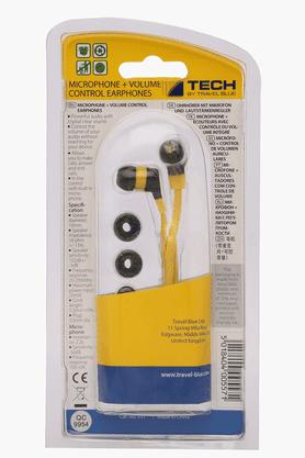 Microphone + Volume Control Earphone