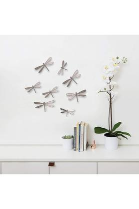 Dragonfly Wall Decor - Set of 8