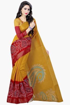 DEMARCAWomens Silk Designer Saree - 202338148