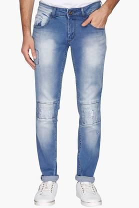 RS BY ROCKY STAR Mens Distressed Jeans
