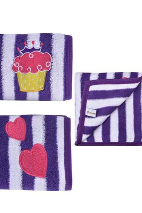 Kids Striped Hand Towel - Set of 2