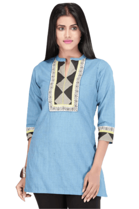 STOP Women Cotton Kurta - 9860499