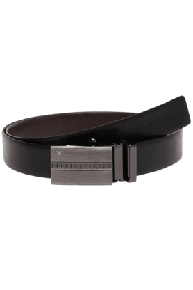BULCHEE Mens Black Mix Reversible Formal Belt