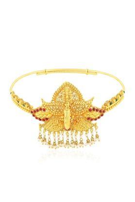 MALABAR GOLD AND DIAMONDSWomens Divine Adjustable Gold Armlet MHAAAAAAQEEV