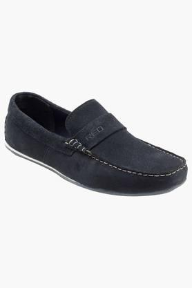 RED TAPE Mens Suede Slip On Casual Loafers  ...