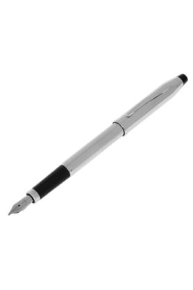 CROSS Black/Silver Fountain Pen