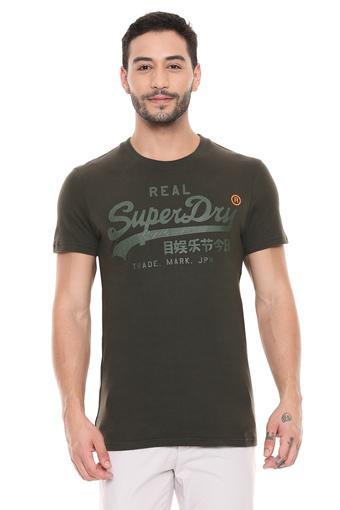 SUPERDRY -  OliveT-shirts - Main