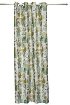 Floral Printed Extra Large Curtain
