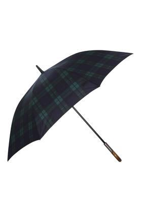 Unisex Checked Long Umbrella