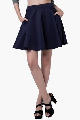 FABALLEY Womens Skater Skirt