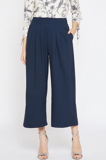 MARIE CLAIRE -  Navy Trousers & Pants - Main
