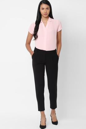 ALLEN SOLLY - Black Trousers & Pants - 3
