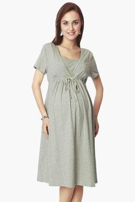 NINE MATERNITY Maternity Basic Nursing Dress