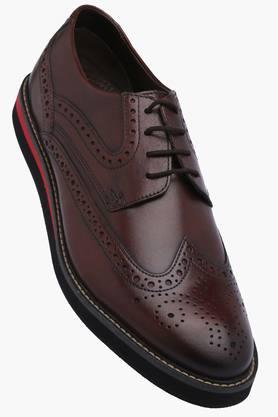 VENTURINI Mens Leather Lace Up Smart Formal Shoes - 201777621