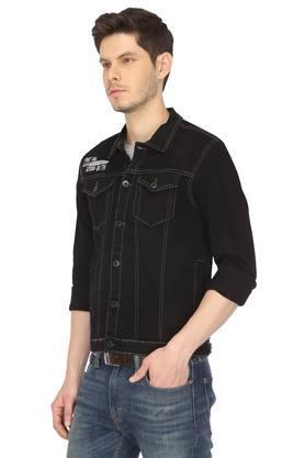 Mens 2 Pocket Solid Jacket