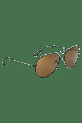 FASTRACKBrown Aviators Sunglass For Men-M142BR2P