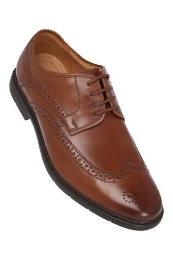 CLARKS -  Tan Formal Shoes - Main