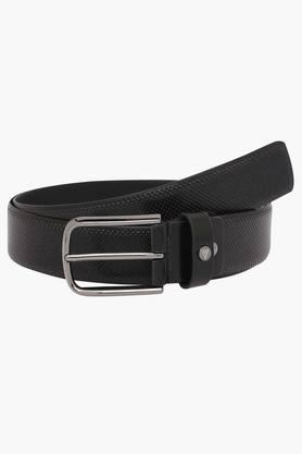 VAN HEUSEN Mens Leather Buckle Closure Casual Belt  ... - 202277403