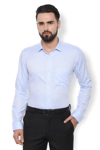 VAN HEUSEN -  Light BlueFormal Shirts - Main