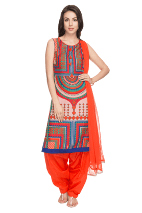 HAUTE CURRY Women Printed Kurta Patiala Suit