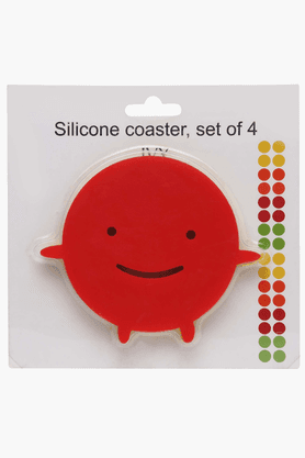 IVY Silicone Happy Coaster (Set Of 4)