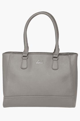 LAVIE Womens Leather Zipper Closure Tote Handbag - 201197834