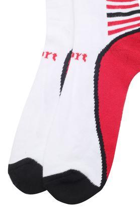 Mens Colour Block Socks Set of 2