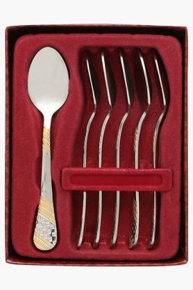 Imperio Embossed Coffee Spoon Set of 6
